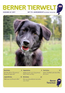 Titelseite Berner Tierwelt 23_2017